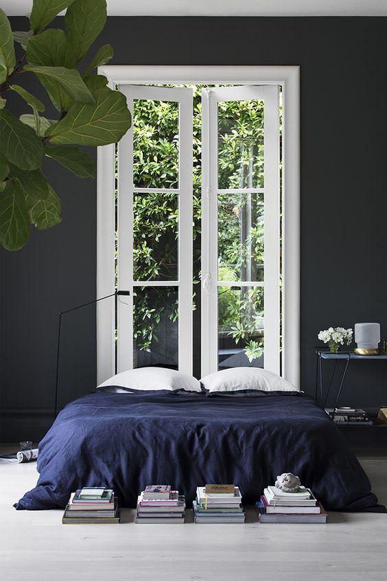 Color crush: donkerblauw in je interieur - Alles om van je huis je ...