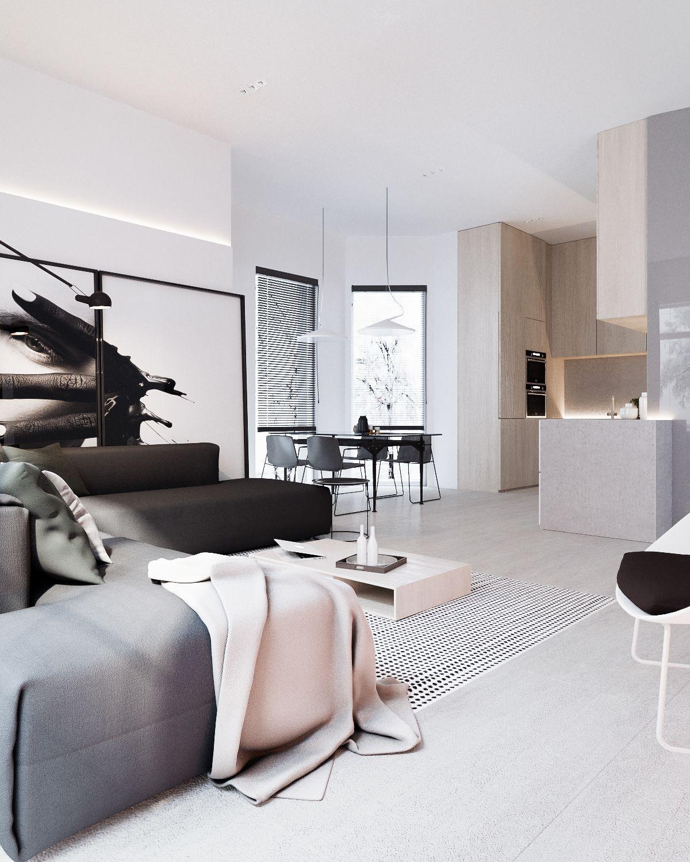 Binnenkijken in een modern interieur alles om van je huis je thuis te maken - Interieur modern huis ...