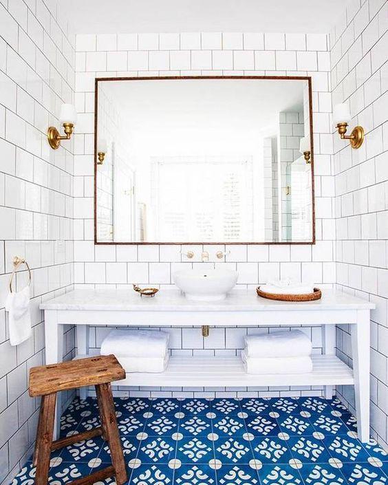Inspiratie: blauw in de badkamer - Alles om van je huis je Thuis te ...