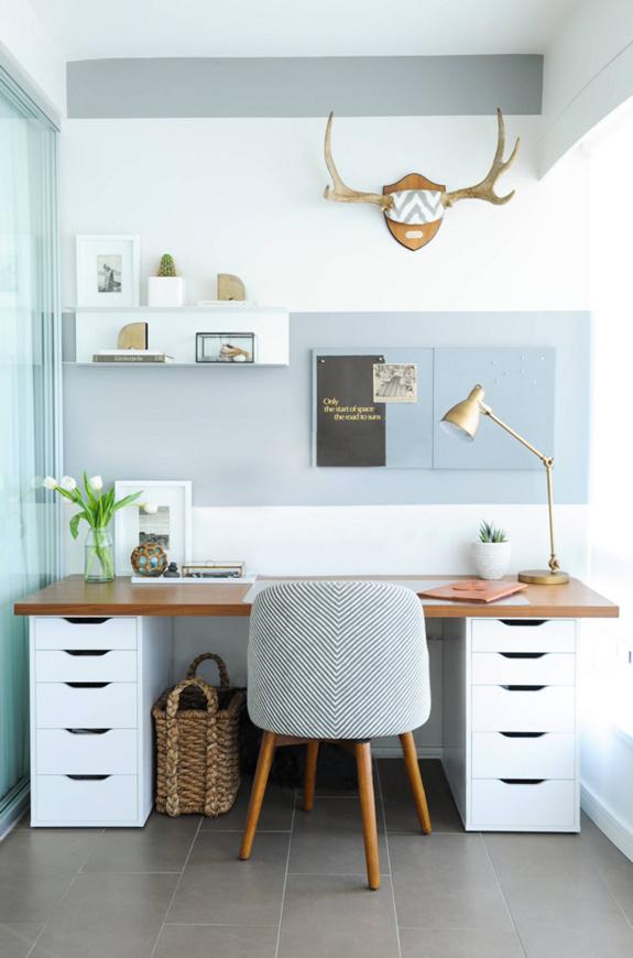 Zo maak je van je woonkamer ook je kantoor - Alles om van je huis ...