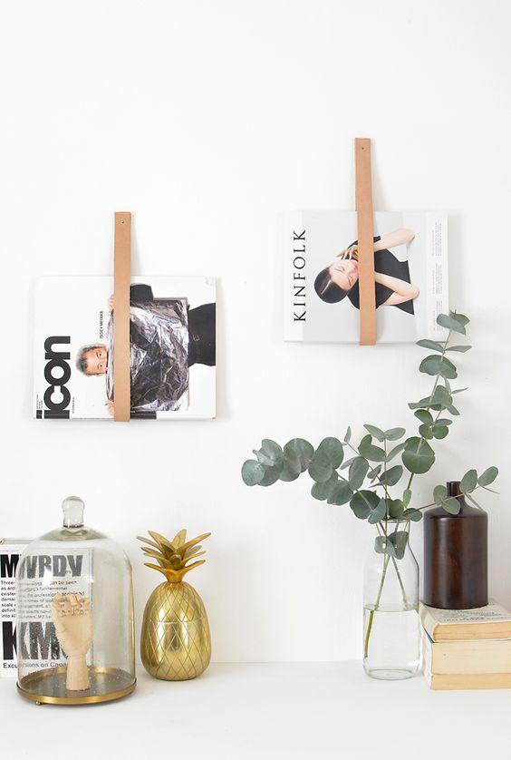 Wonderlijk DIY: 5 stylish tijdschriften- en boekenhouders die je zelf kunt PE-87
