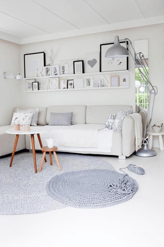 de mooiste interieurs met ronde vloerkleden - alles om van je huis
