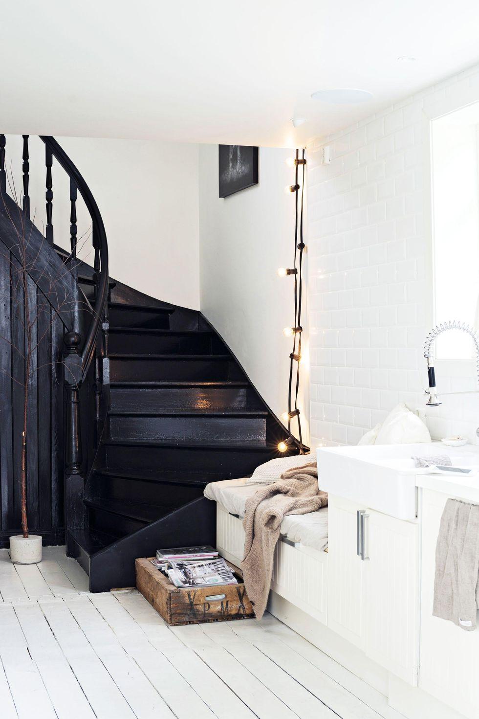 Gek op zwart in het interieur 5x mooie interieurs met zwart erin verwerkt alles om van je - Whirlpool van het interieur ...
