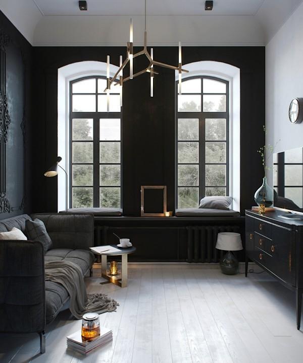 Gek op zwart in het interieur? 5x mooie interieurs met zwart erin ...