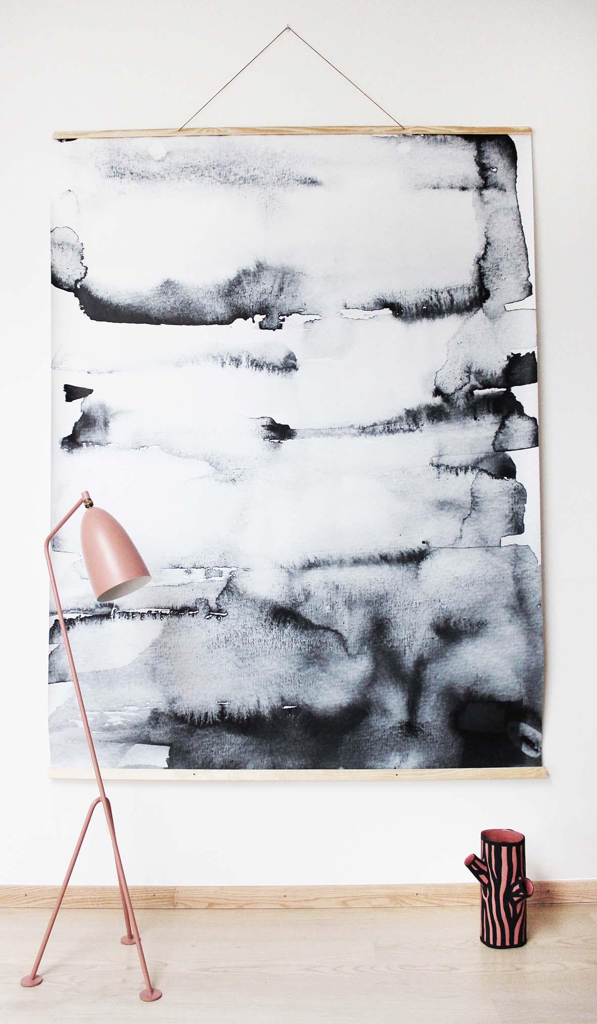 Diy Wall Art Drawing : Trend waterverf in je interieur alles om van huis